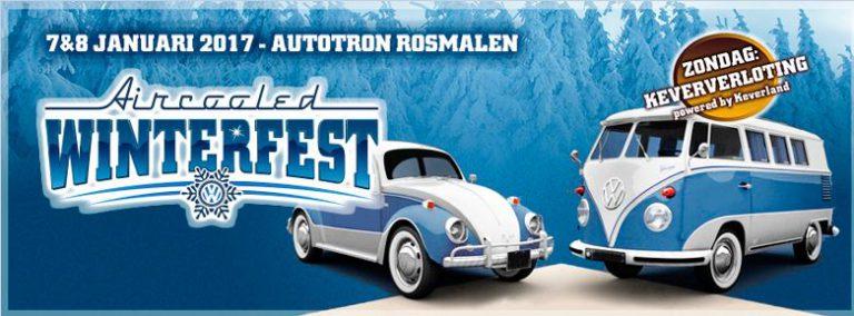 De 25e editie van het Aircooled WinterFest in Autotron Rosmalen komt er aan!