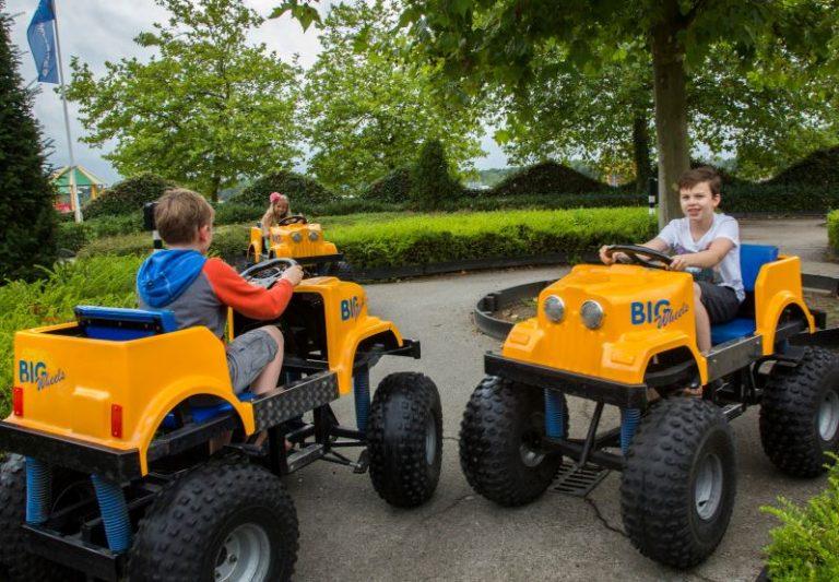 Trapauto's keren terug naar Autotron Rosmalen