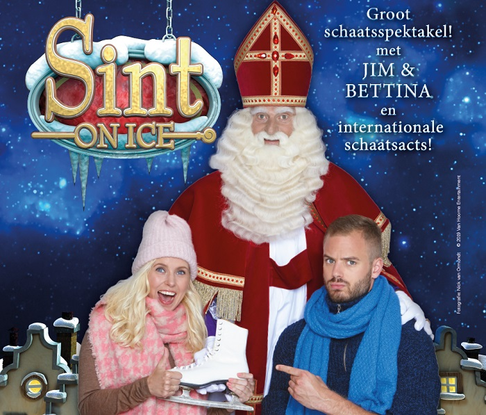 Jim Bakkum én Bettina Holwerda in Sint on Ice