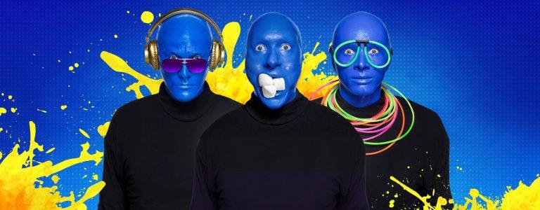 BLUE MAN GROUP keert wegens succes terug naar Nederland, naar MAINSTAGE