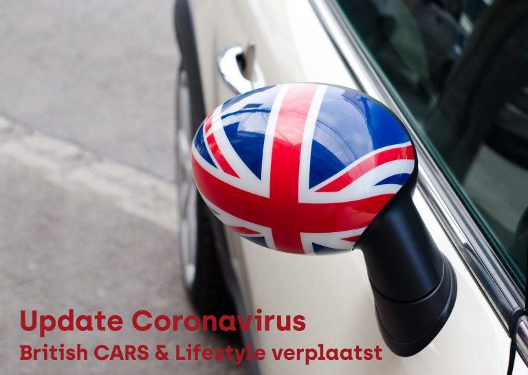 Nieuwe datum British Cars & Lifestyle vanwege Corona-virus