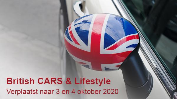 British CARS and Lifestyle wordt verplaatst naar 3 en 4 oktober 2020